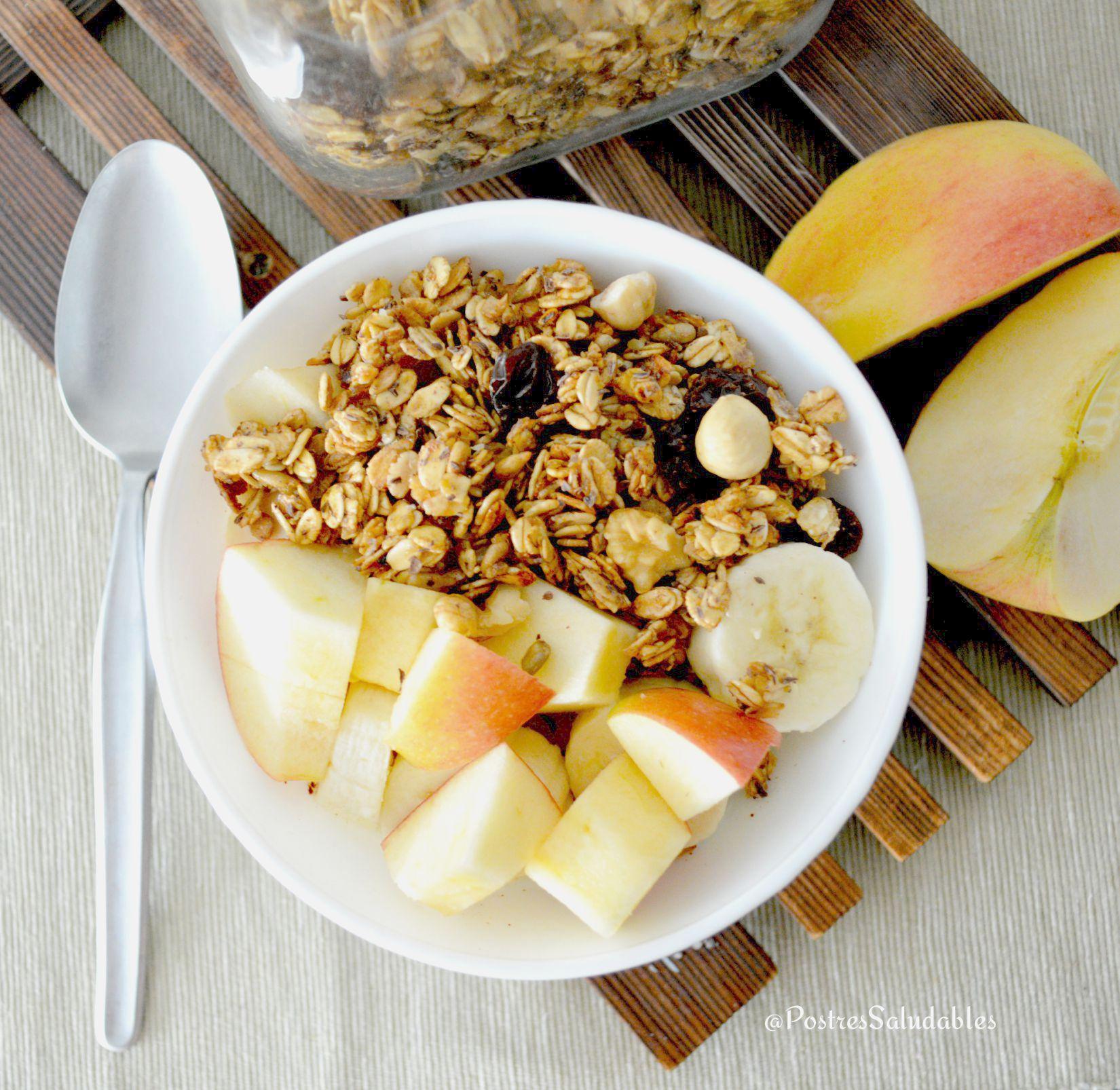 Postres saludables c mo hacer cereales caseros saludables - Desayunos en casa ...