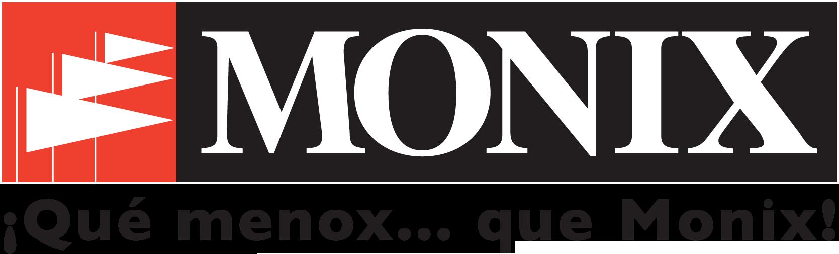 logo Monix Que menox Negro