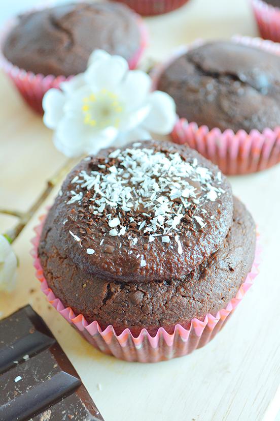 cupcake integral de nutella caasera