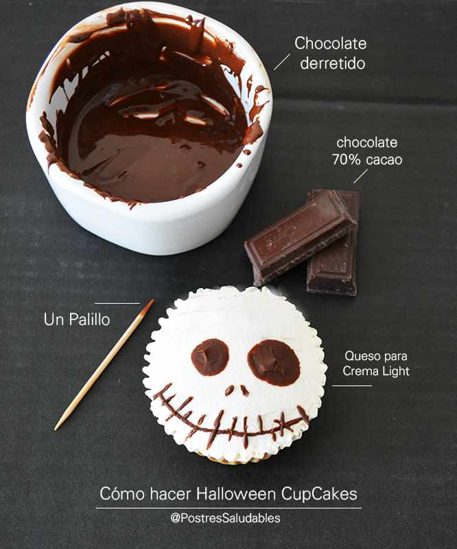 Tutorial de jack face cupcake