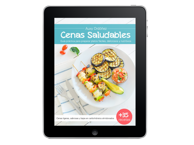 Cenas saludables rectangular