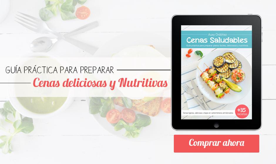 Cenas Saludables por Auxy Ordonez