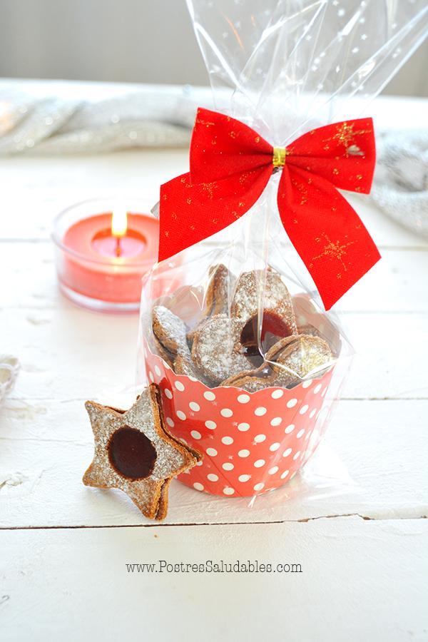 Galletas rellenas saludables regalo