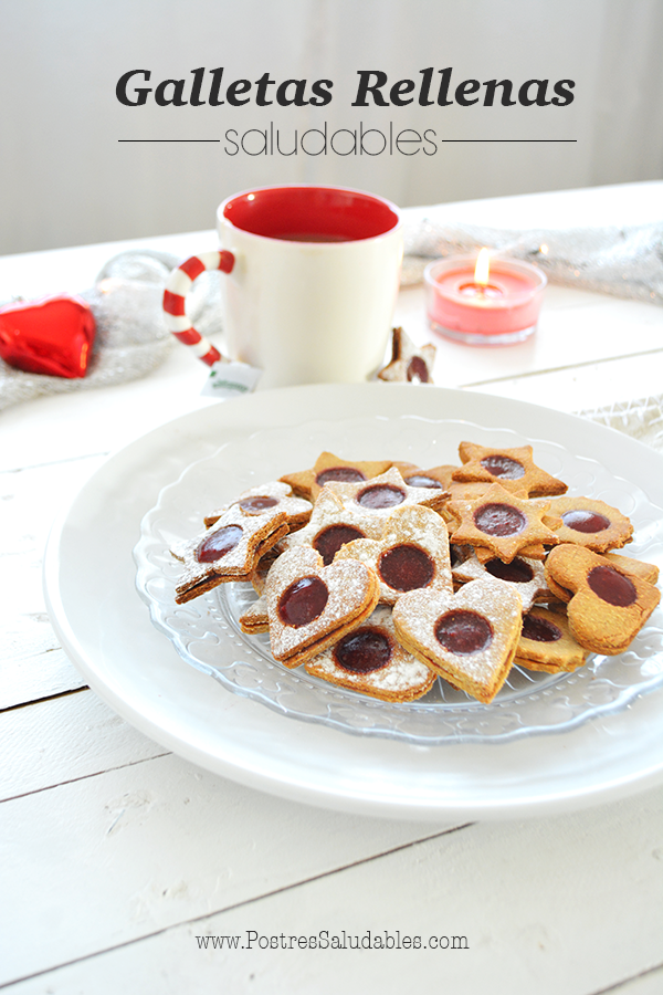 galletas rellenas saludables